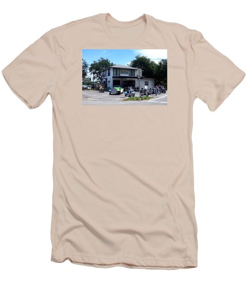 Men's T-Shirt (Slim Fit) featuring the photograph The Cabbage Patch by Melinda Saminski