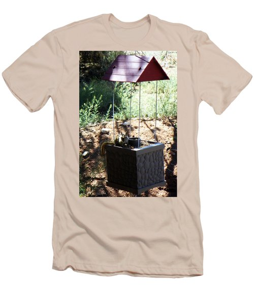 The Chipmunk And The Well Men's T-Shirt (Athletic Fit)