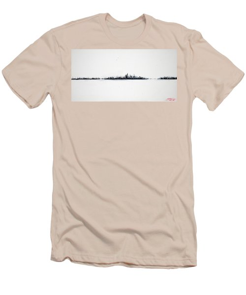 The City New York Men's T-Shirt (Slim Fit)