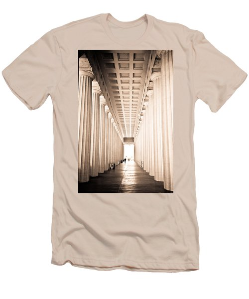 The Columns At Soldier Field Men's T-Shirt (Athletic Fit)