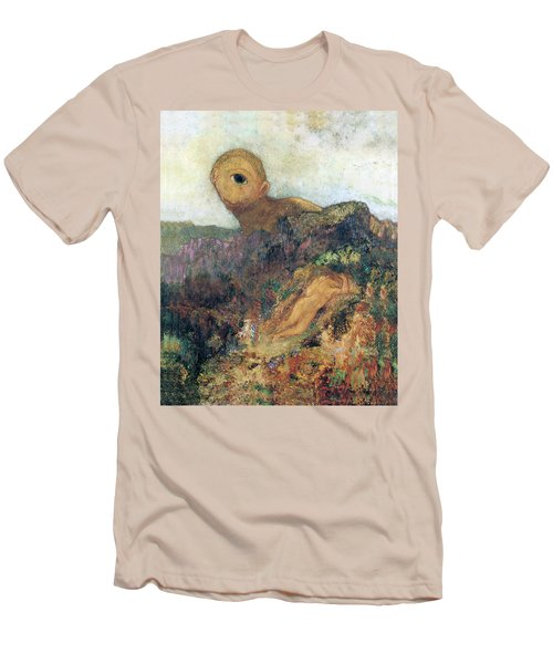 The Cyclops Men's T-Shirt (Slim Fit) by Odilon Redon