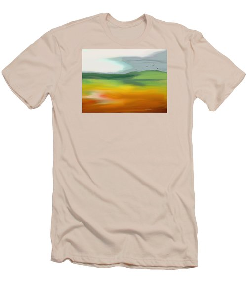 The Distant Hills Men's T-Shirt (Slim Fit)