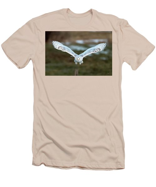 Men's T-Shirt (Slim Fit) featuring the photograph The Eyes Of Intent by Everet Regal