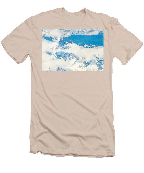 The Fitz Roy Men's T-Shirt (Slim Fit) by Andrew Matwijec