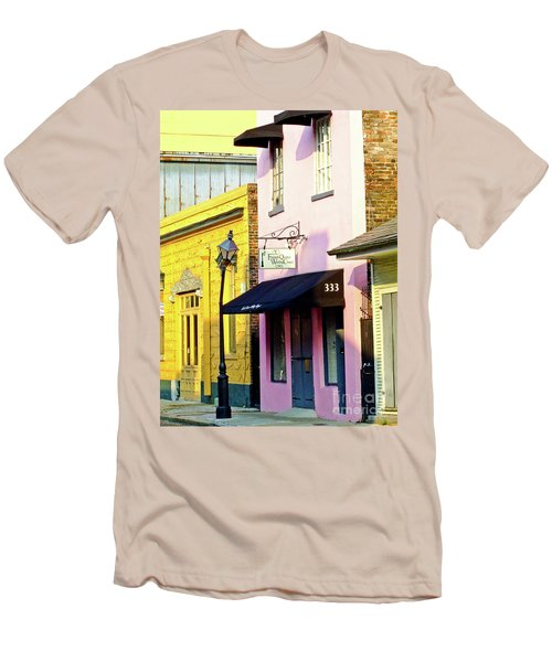 The French Quarter Wedding Chapel Men's T-Shirt (Athletic Fit)