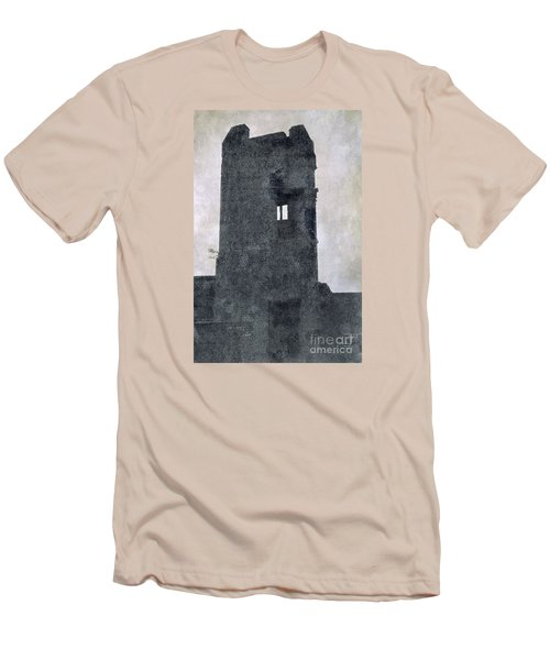 Men's T-Shirt (Slim Fit) featuring the photograph The Ghostly Tower by Linsey Williams
