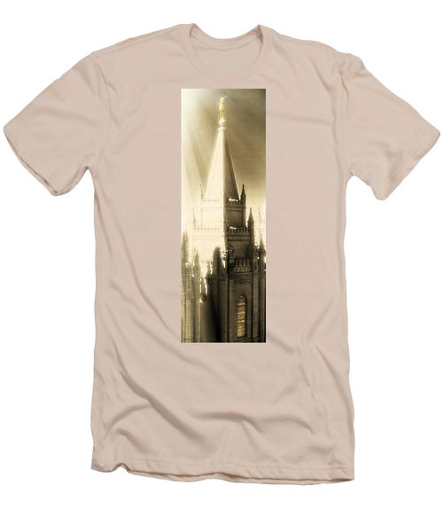 Men's T-Shirt (Slim Fit) featuring the photograph The Glory Of The Lord Shone Round About by Greg Collins