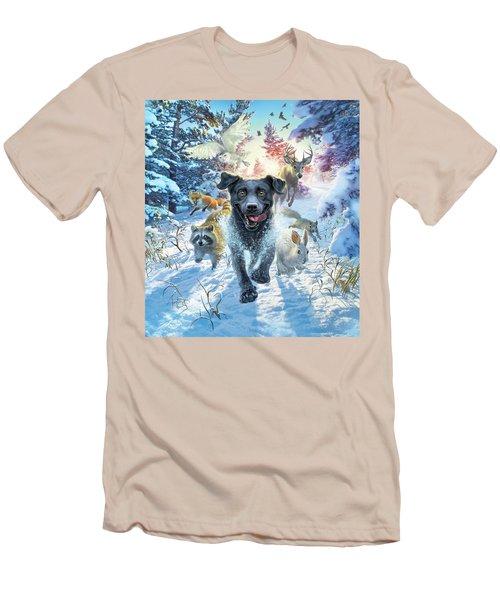 The Great Race Men's T-Shirt (Athletic Fit)