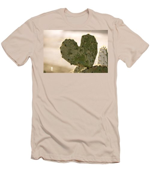 Men's T-Shirt (Slim Fit) featuring the photograph The Heart Of Texas by Debbie Karnes