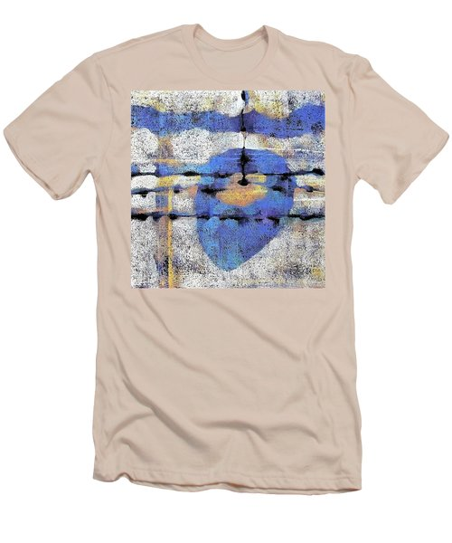 The Heart Of The Matter Men's T-Shirt (Slim Fit) by Maria Huntley