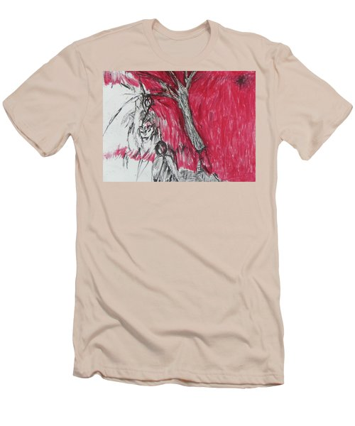 The Horror Tree Men's T-Shirt (Athletic Fit)