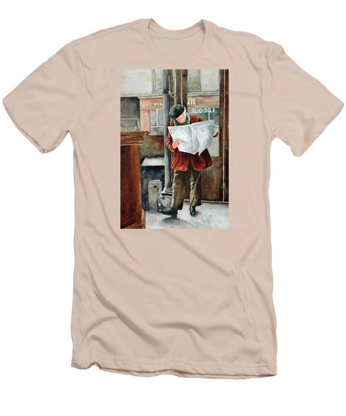 The Latest News Men's T-Shirt (Slim Fit)