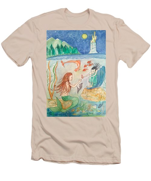 The Little Mermaid Men's T-Shirt (Athletic Fit)