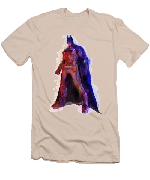 The Man With A Cape Men's T-Shirt (Slim Fit) by Caito Junqueira