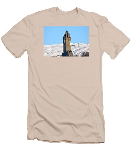 The National Wallace Monument Men's T-Shirt (Slim Fit) by RKAB Works