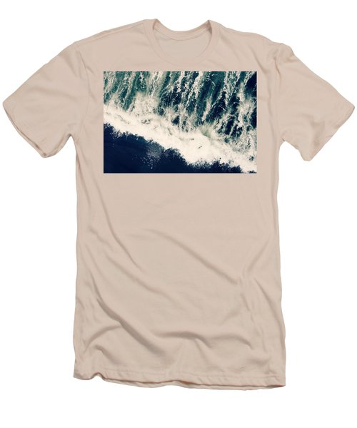The Ocean Roars Men's T-Shirt (Athletic Fit)