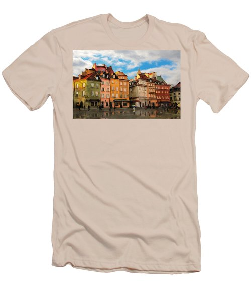 Old Town In Warsaw # 23 Men's T-Shirt (Athletic Fit)