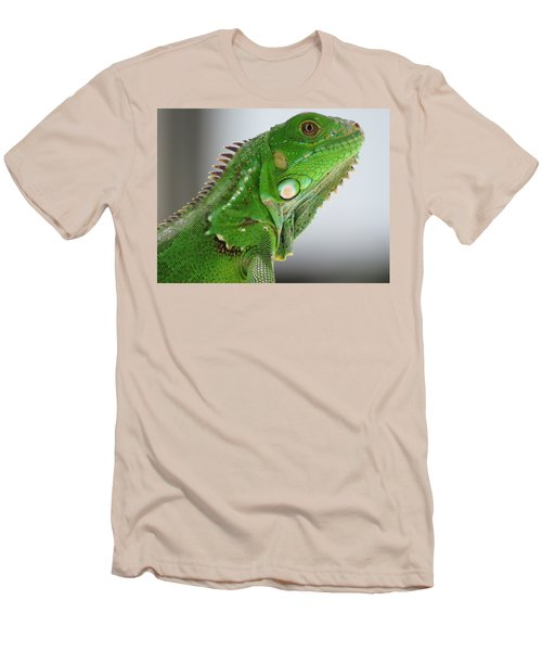 The Omnivorous Lizard Men's T-Shirt (Athletic Fit)
