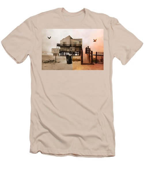 The Osprey And The Pelican Men's T-Shirt (Athletic Fit)