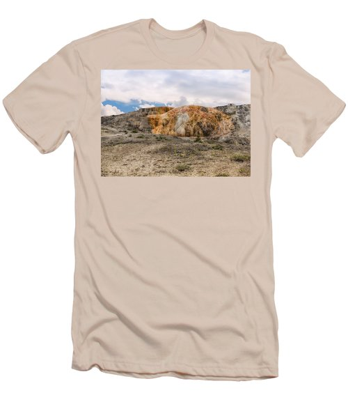 Men's T-Shirt (Athletic Fit) featuring the photograph The Other Yellowstone by John M Bailey
