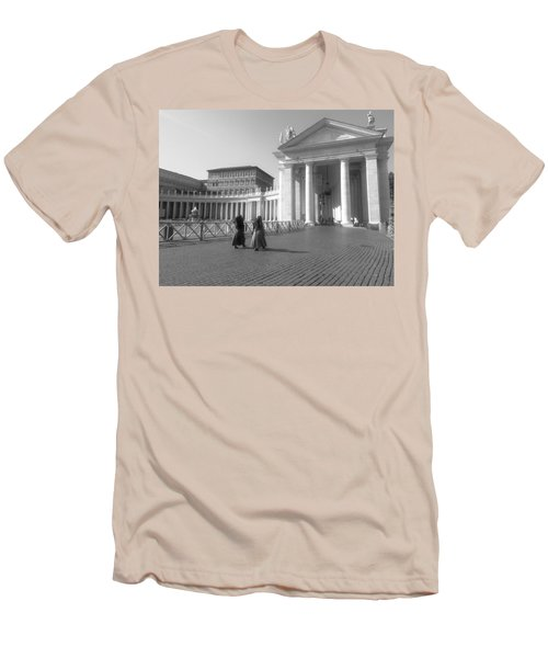 The Path To Temple Men's T-Shirt (Athletic Fit)