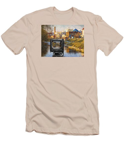 The Photographer's Way Of Seeng Men's T-Shirt (Slim Fit)