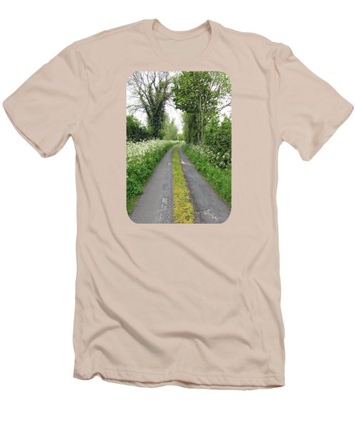 The Road To The Wood Men's T-Shirt (Slim Fit) by Ethna Gillespie