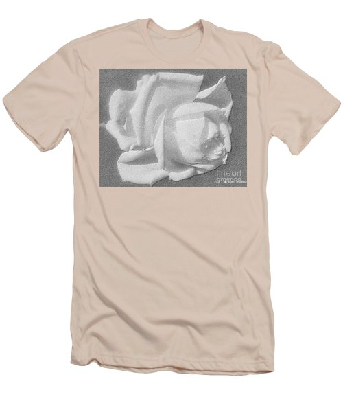The Rose Men's T-Shirt (Slim Fit) by Saribelle Rodriguez