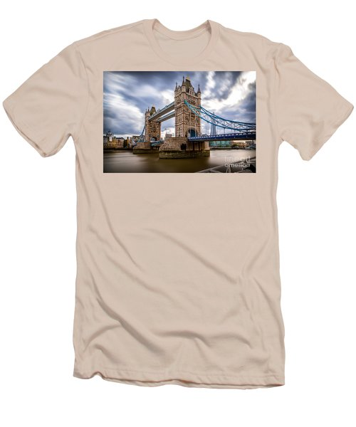 The Three Towers Men's T-Shirt (Slim Fit) by Giuseppe Torre