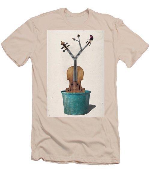 The Voilin Plant Men's T-Shirt (Athletic Fit)