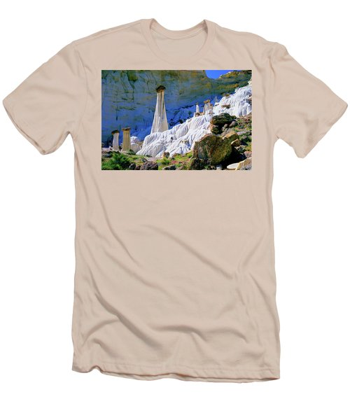 The White Hoodoos Men's T-Shirt (Athletic Fit)