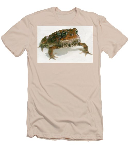 Men's T-Shirt (Slim Fit) featuring the digital art The Whole Toad by Barbara S Nickerson
