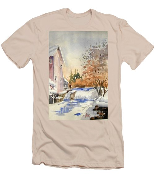 The Winter Mill Men's T-Shirt (Athletic Fit)