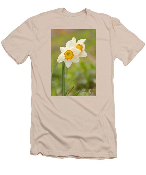 Thinking About Spring Men's T-Shirt (Slim Fit) by Alana Ranney
