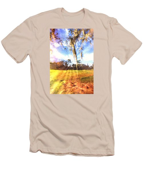 Through The Moss Men's T-Shirt (Slim Fit) by Annette Berglund