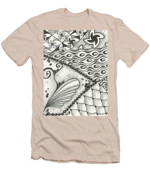 Time Marches On Men's T-Shirt (Slim Fit) by Jan Steinle