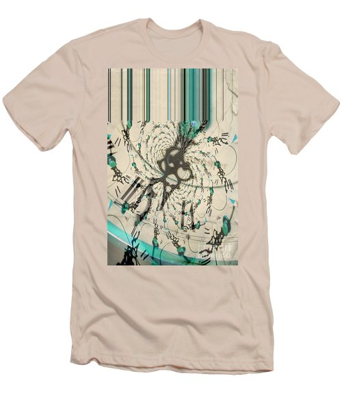 Time Ticking To The New Year Men's T-Shirt (Athletic Fit)