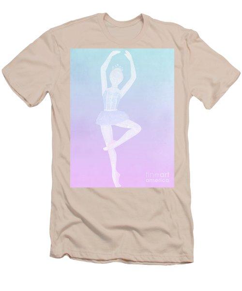 Tiny Dancer Ballerina Men's T-Shirt (Athletic Fit)