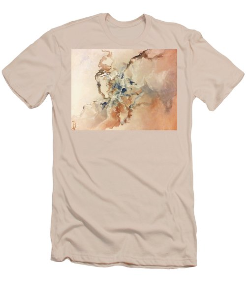 Men's T-Shirt (Slim Fit) featuring the painting Tomorrows Dream by Raymond Doward