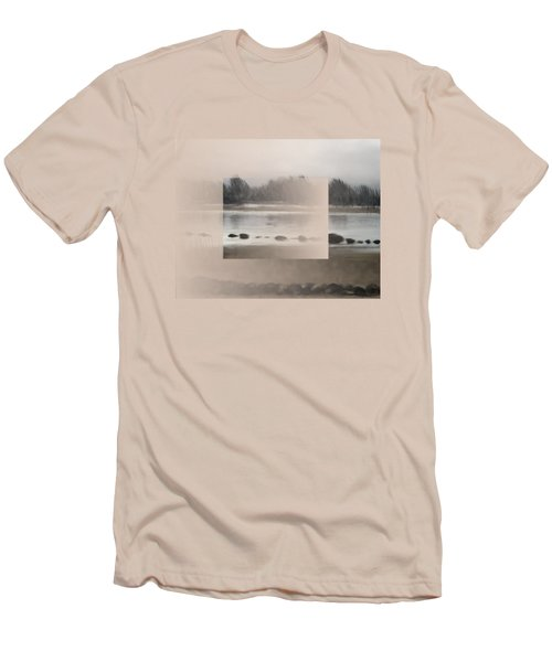 Too Early Out Men's T-Shirt (Slim Fit) by Ivana