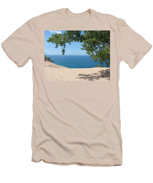 Top Of The Dune At Sleeping Bear Men's T-Shirt (Athletic Fit)