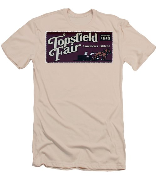 Topsfield Fair 1818 Men's T-Shirt (Athletic Fit)