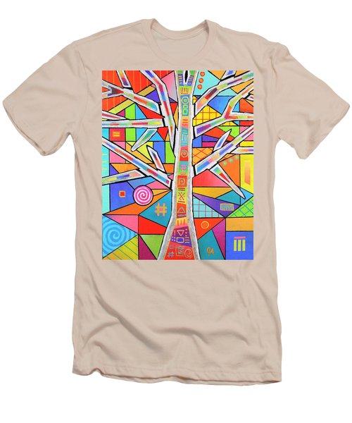 Totem Tree Men's T-Shirt (Athletic Fit)