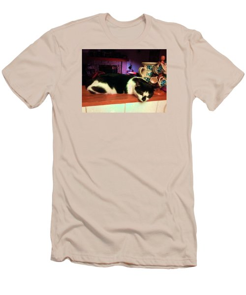 Men's T-Shirt (Slim Fit) featuring the photograph Toulouse by Vicky Tarcau
