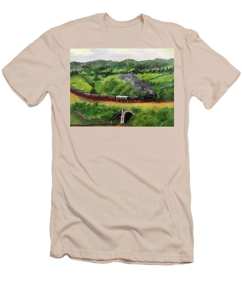 Train In The Country Men's T-Shirt (Athletic Fit)