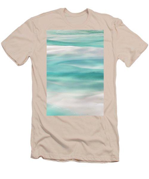 Men's T-Shirt (Slim Fit) featuring the photograph Tranquil Turmoil by Az Jackson
