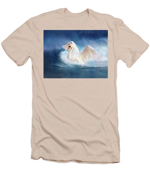 Transcendence Men's T-Shirt (Slim Fit) by Colleen Taylor