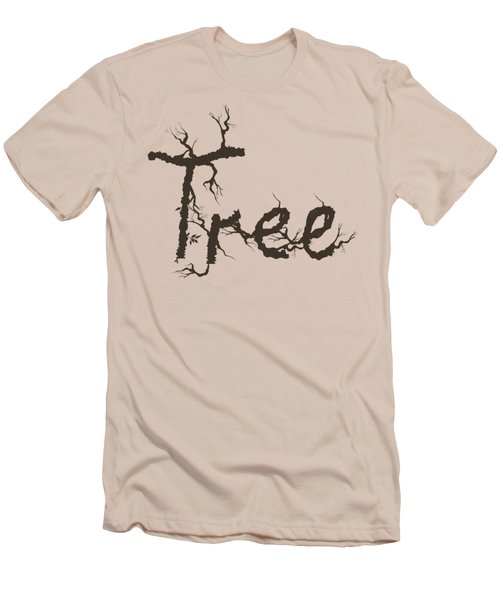 Tree Men's T-Shirt (Slim Fit) by Martina Fagan