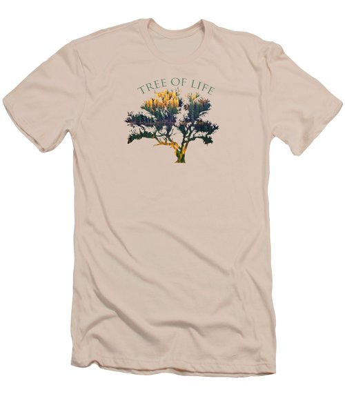 Tree Of Life 2 Men's T-Shirt (Athletic Fit)