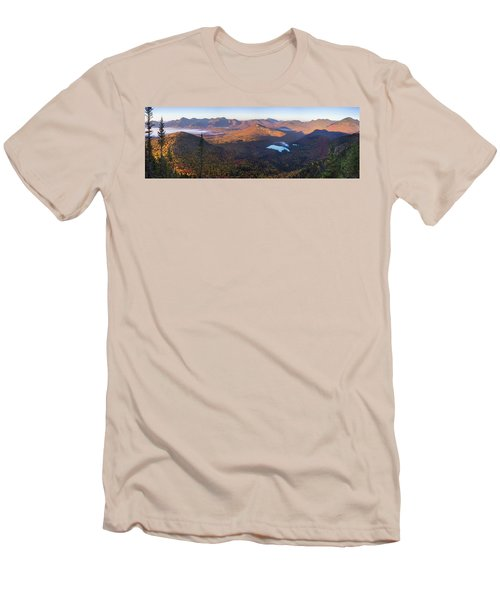 Tremont Autumn Morning Panorama Men's T-Shirt (Athletic Fit)